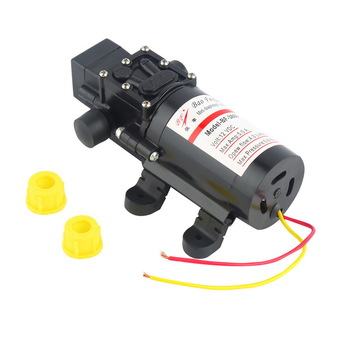 DC 12V 60W Motor High Pressure Diaphragm Water Self Priming Pump 4.0L/Min