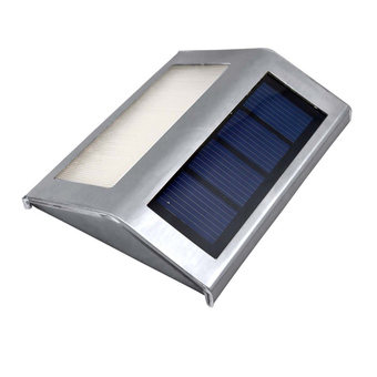 Solar Power Garden Panel Fence Gutter Light (Intl)