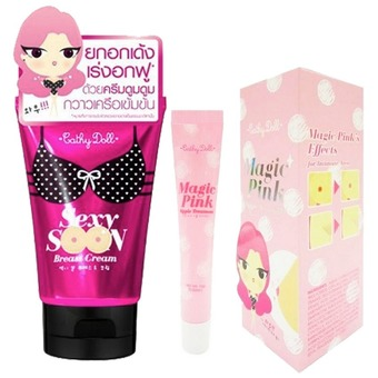 Karmart Cathy Doll Sexy Soon Breast Cream 75 g. + Magic Pink Nipple Treatment 15g Cathy Doll