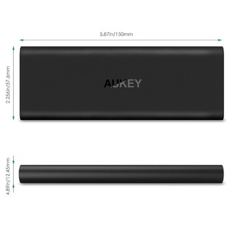 Aukey Slim PowerBank Qualcomm Quick Charge 2.0 6000 mAh
