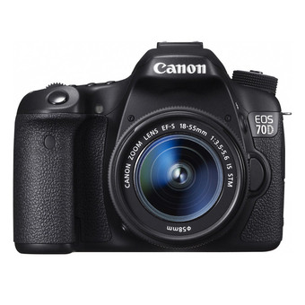 กล้อง Canon EOS 70D Kit EF-S18-55 IS STM (Black)