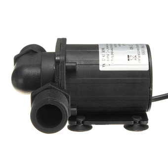 DC 12V 1000L/H Electric / Solar Brushless Motor Water Pump Aquarium Fountain New