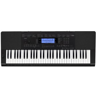 Casio คีย์บอร์ด Keyboard CTK-5200 Adapter AD-5X (2010) 61K - BK