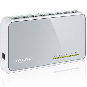 TP-LINK TL-SF1008D SWITCH 8 PORT 100M.
