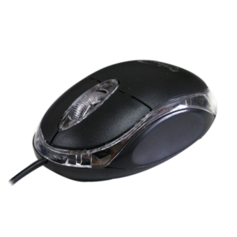 Optical USB Wired Mouse Primaxx WS-MS-906 (สีดำ)