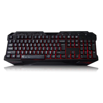 Tsunami GK-03 3 Colors LED Breathing Backlight Gaming USB Wired Keyboard