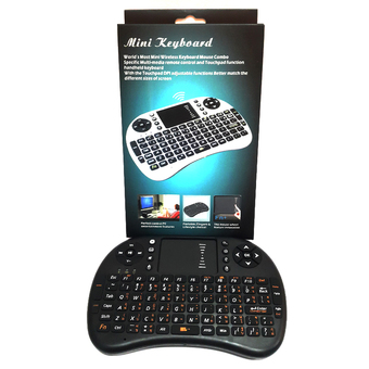 Wireless Thai Keyboard รองรับ Windows XP/Vista/7/8/Android OS (สีดำ)