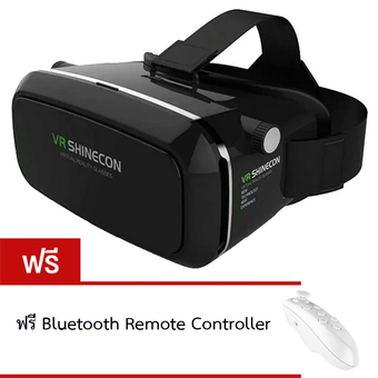 OEM VR SHINECON Virtual Reality Mobile Phone 3D Glasses 3D Movies Games With Resin Lens