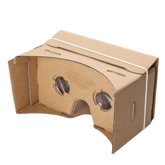 Ultra Clear Google Cardboard High Quality 3D DIY VR Virtual Reality Glasses