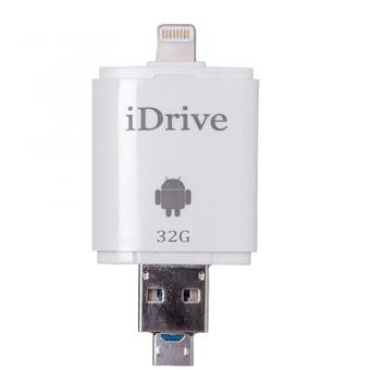 iDrive 32GB Lightening to USB OTG Flash Drive for Apple,sumsung i-Flash Device Gen2 ของแท้ 100%