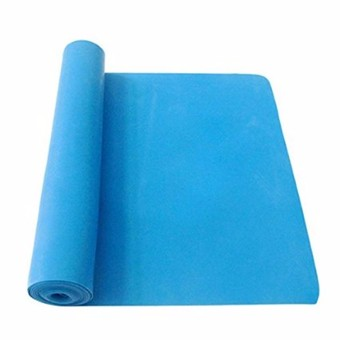 1.5m Exercise Pilates Yoga Dyna Resistance Abs Workout Physio Aerobics Stretch Band (Blue)
