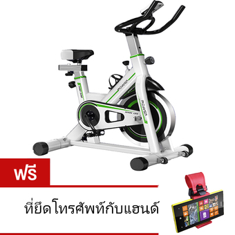 To Fit To Firm จักรยานออกกำลังกาย Exercise Spin Bike จักรยานฟิตเนส Spinning Bike SpinBike รุ่น Hawk - WHITE