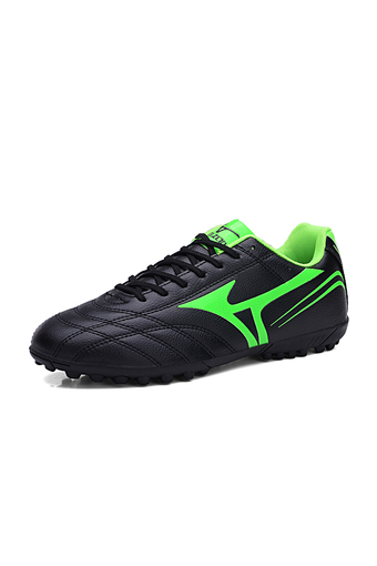 New Men Soccer Cleats FG Outdoor Soccer Shoes Durable Football Soccer Boot Black (Intl)