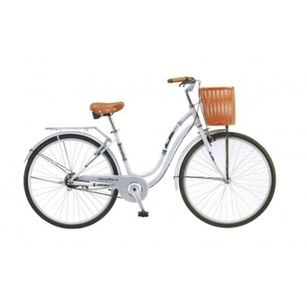 "LA Bicycle จักรยาน 26 "" 1-3/8 Color Of Ride - White"