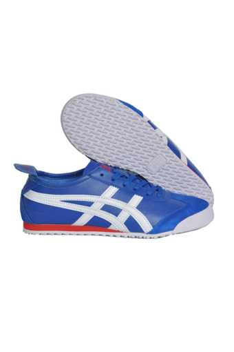 Onitsuka Tiger Mexico 66 Classic Running Shoe - Blue