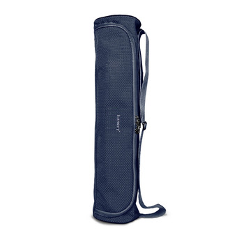 Lateral Opened Mat Bag YOGA Fitness g0920a Dark Blue - Intl