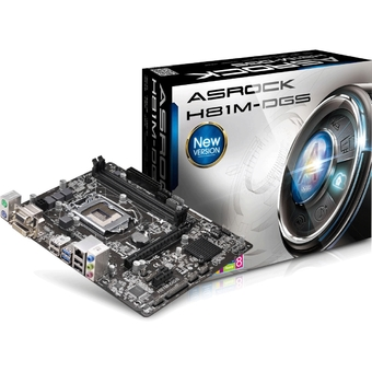 ASROCK Main Board SOCKET 1150 H81M-DGS