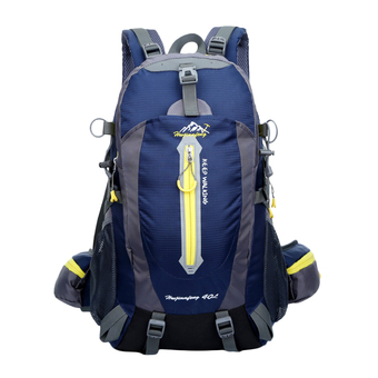 360DSC 40L Updated Version Outdoor Sports Backpack Waterproof Climbing Traveling Shoulder Bag Rucksack 1346 (Dark Blue)