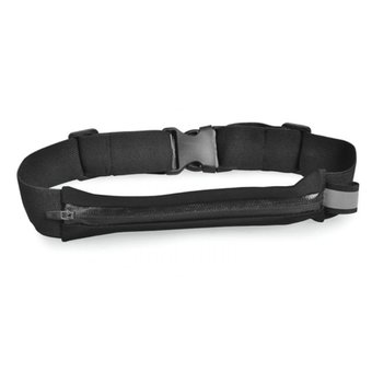 Avantree KANGAROO Sports Waist Pack for running & cycling - Black
