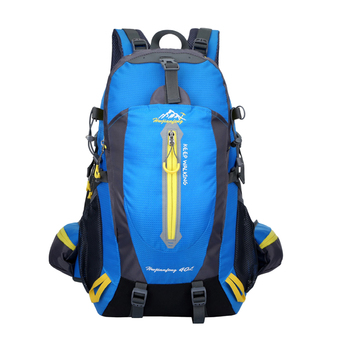 360DSC 40L Updated Version Outdoor Sports Backpack Waterproof Climbing Traveling Shoulder Bag Rucksack 1346 (Blue)