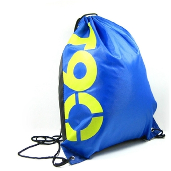 Swimming Drawstring Beach Bag Sport Gym Waterproof Backpack Duffle T90 Blue (Intl)