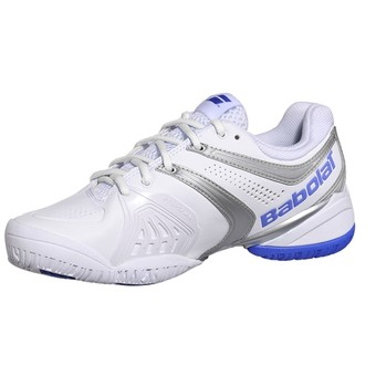 Babolat V-Pro2 Women_Tennis shoes ( White/Blue )
