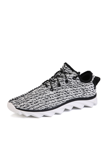 ZHAIZUBULUO Yeezy Boost Women's Running Shoes Jogger Lace-Up White (Intl)