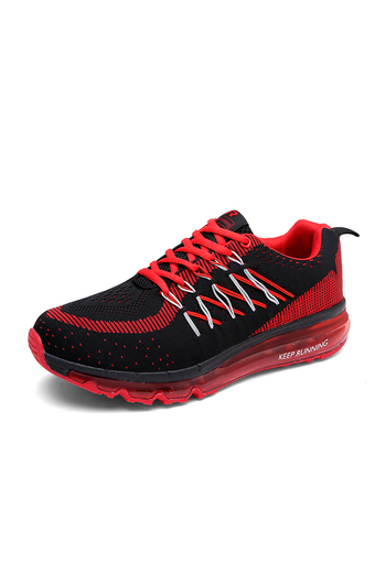 Women sneaker breathable air max shoes lady running shoes fashion sport shoes lovers (Red) (Intl)