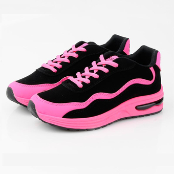 EOZY FASHION Women Ladies Trainers GYM Jogging Sports Running Walking Casual Fitness Sneakers Shoes Size 37-40 (Rosy) (Intl)