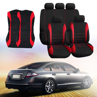 Car Seat Cover Universal Fit Car Styling Car Cover Seat Protector Red (Intl)