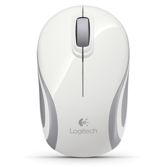 LOGITECH MOUSE WIRELESS M187 (WHITE)