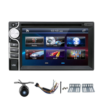 2016 New! Universal Car Radio Double 2 Din Car DVD Player In Dash Car PC Stereo Head Unit Video Without Gps - Intl