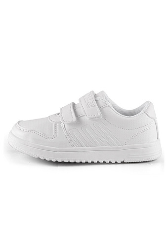 JustCreat Boys White Sneaker Breathable Board Shoes (Intl)