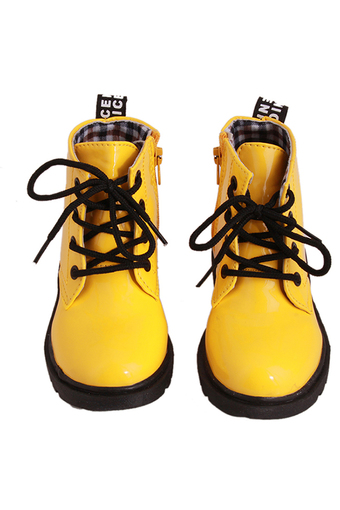 Yingwei Children Martin Shoe Yellow - Intl