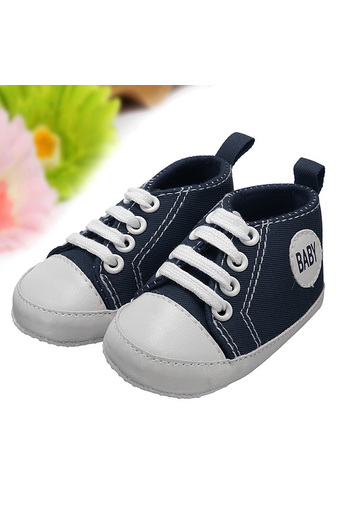 Newborn Infant Toddler Kids Baby Boy Girl Soft Sole Crib Shoes Sneaker 0-18M (Intl)