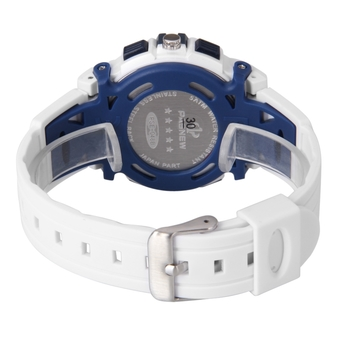 PASNEW 5ATM Water-proof BoyStudent Sport Watch White (Intl)