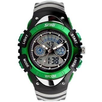 SKMEI Children 0998 Men's Sports LED Digital Rubber Quartz Wristwatch - Intl