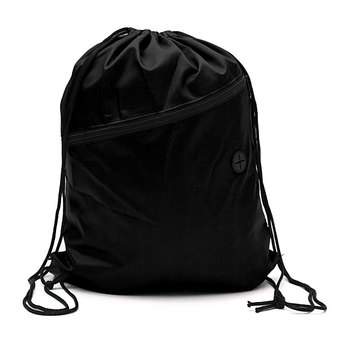 Drawstring Backpack Unisex (Black)