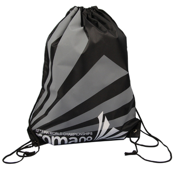 Portable Foldable Waterproof Backpack Swimming Bag Beach Snorkeling Bag (Gray+Black) (Intl)