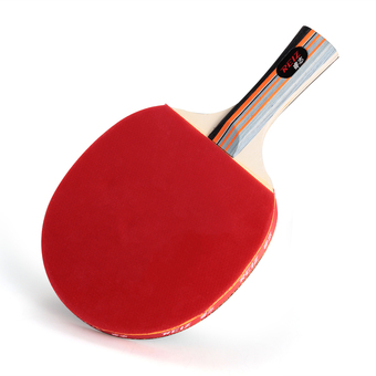 Table Tennis Ping Pong Racket Paddle Bat (Red/Black)