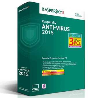 KASPERSKY ANTI-VIRUS 2015 RENEWAL 3PC Package