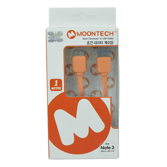 Moontech Micro USB 3.0 for Samsung Galaxy Note 3 - Black/Gold