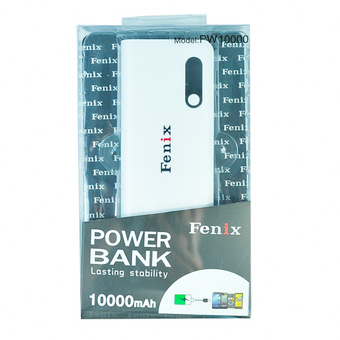 Fenix Power Bank 10000 mAh รุ่น PW10000 - White