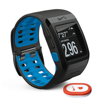 Nike Sport Watch GPS original box (Sensor Kit) - Black/Blue