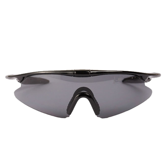 XINTOWN Unisex Cycling Wind Proof Sports Glasses Sunglasses (Gray)