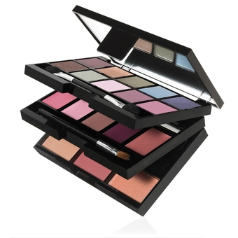 e.l.f. 22 Piece On-The-Go Palette เมคอัพพาเลท 22 pcs. (85052) 0.66 oz./18.65 g.