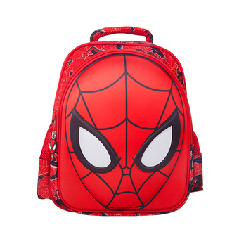 3D Spiderman School Bag (Red, S) - INTL