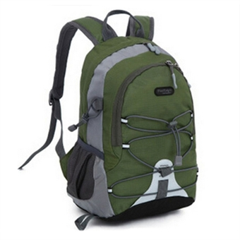 Children Waterproof Bookbag Travel Rucksack School Bag Green