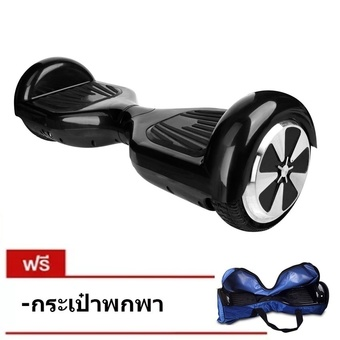 Nano tech สกู๊ตเตอร์ไฟฟ้า 2 Wheel Smart Balance Electric Scooter Hoverboard Skateboard ( สีดำ )