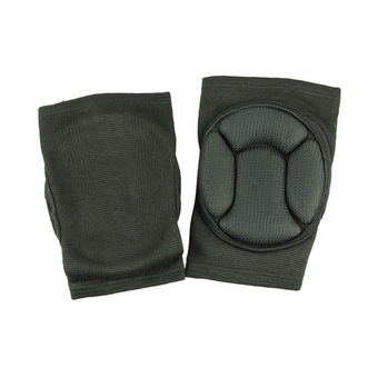 Sport black durable knee shin protector protection guard pads kneepad kneepads Black (Intl)